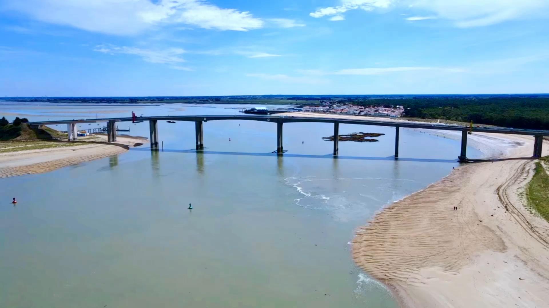 Le Pont de Noirmoutier en Jetski